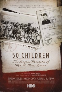 Poster for the movie 50 Children: The Rescue Mission of Mr. And Mrs. Kraus