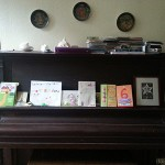 Cards on the piano