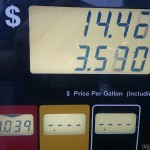 Price of gas went down 6 cents since last time