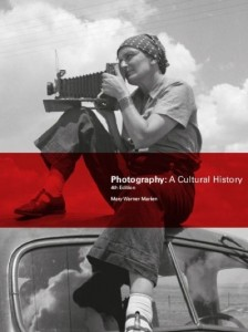 Cover for Mary Warner Marien: Photography: A Cultural History, 4th Edn. 2014.